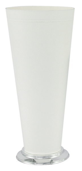 White Mint Julep Vase/Cup