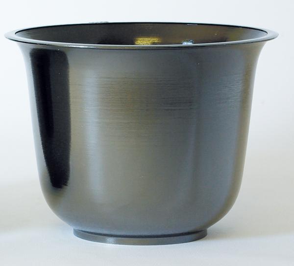 Black Pearl Spun Planter
