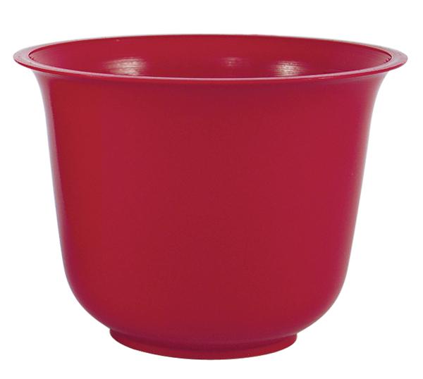 Red Spun Planter